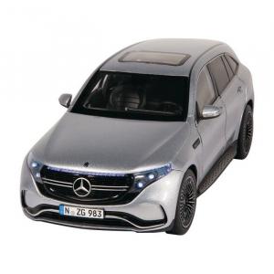 Macheta auto electrica Mercedes Benz ECQ cu lumini, scara 1:181