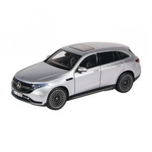 Macheta auto electrica Mercedes Benz ECQ cu lumini, scara 1:180