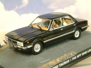 Macheta auto Ford Taunus James Bond, scara 1:431