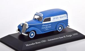 Macheta auto Mercedes 170D van 1954, scara 1:430