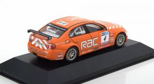 Macheta auto raliu BMW 320si (E90), scara 1:431