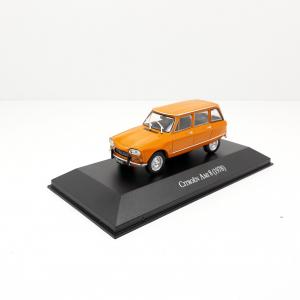 Macheta auto Renault 6, scara 1:430