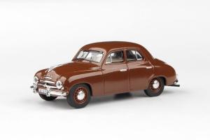 Macheta auto Skoda 1201 sedan 1956, scara 1:430