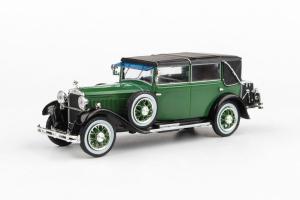 Macheta auto Skoda 860 1932 verde, 1:430