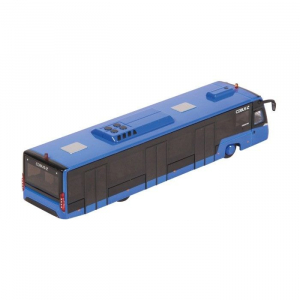 Macheta autobuz aeroport Cobus 3000 albastru, scara 1:871