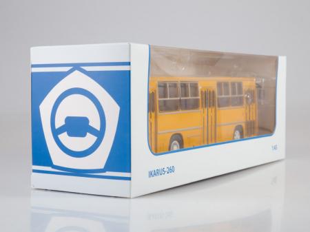 Macheta autobuz Ikarus 260, scara 1:436