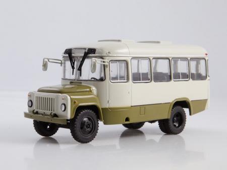 Macheta autobuz KAVZ-3270 cu revista, scara 1:43 [0]