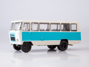 Macheta autobuz Kuban G1A1-02, scara 1:432
