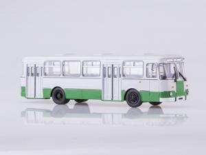 Macheta autobuz LiAZ 677m Moscova, scara 1:430
