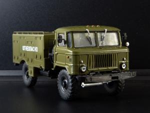Macheta autospeciala de alimentare pentru avioane VSZ-66, scara 1:430