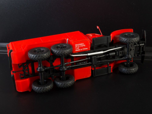 Macheta autospeciala de pompieri ZIL-157 AT-2, scara 1:434