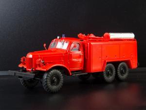 Macheta autospeciala de pompieri ZIL-157 AT-2, scara 1:431