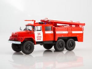 Macheta autospeciala pompieri AC-40 pe sasiu ZIL-131, scara 1:431
