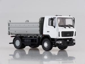 Macheta basculanta MAZ 5550 facelift, scara 1:431