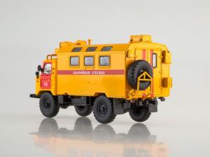 Macheta camion atelier mobil GAZ 66, scara 1:431