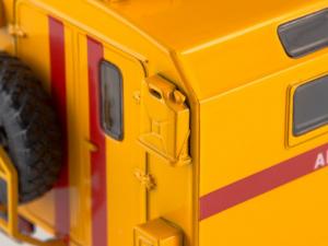 Macheta camion atelier mobil GAZ 66, scara 1:432