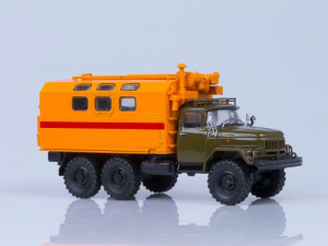 Macheta camion atelier mobil KUNG MTO-ATM (ZIL 131), scara 1:431