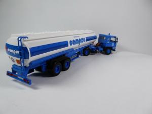 Macheta camion cisterna Pegaso 1231, scara 1:431