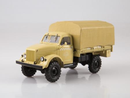 Macheta camion cu prelata GAZ-63, scara 1:43 [0]