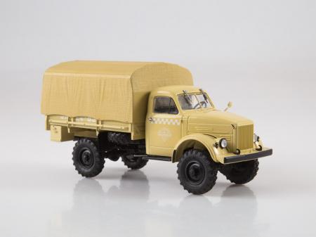 Macheta camion cu prelata GAZ-63, scara 1:43 [2]