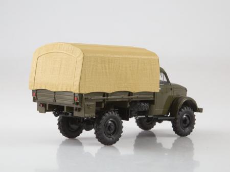 Macheta camion cu prelata GAZ-63, scara 1:43 [1]