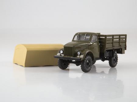 Macheta camion cu prelata GAZ-63, scara 1:43 [5]
