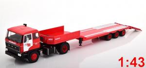 Macheta camion DAF 2800 cu trailer, scara 1:431