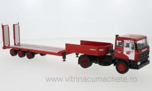 Macheta camion DAF 2800 cu trailer, scara 1:430