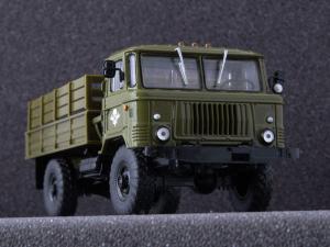 Macheta camion GAZ 66, scara 1:43 [3]