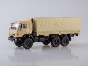 Macheta camion Kamaz 43118 6x6, scara 1:430