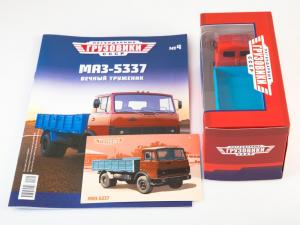 Macheta camion MAZ-5337, scara 1:434