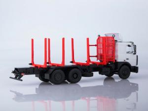 Macheta camion MAZ 6303 pentru lemne, scara 1:432
