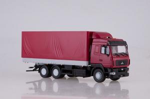 Macheta camion MAZ-6312 facelift, scara 1;431