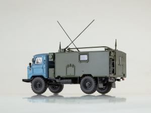 Macheta camion militar de comandament Gaz 66, scara 1:43 [1]
