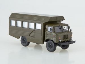 Macheta camion militar Gaz 66, scara 1:431