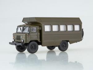 Macheta camion militar Gaz 66, scara 1:430