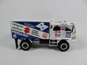 Macheta camion raliu Pegaso 3046 Dakar, scara 1:432