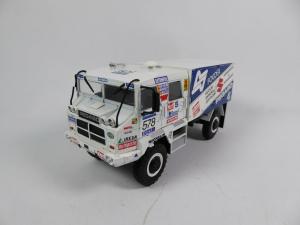 Macheta camion raliu Pegaso 3046 Dakar, scara 1:430