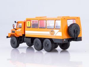 Macheta camion URAL-4322 duba de persoane, scara 1:433