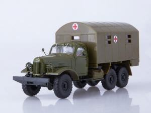 Macheta camion ZIL-157 ambulanta militara, scara 1:432