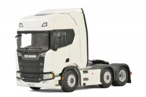Macheta cap tractor noul Scania R Highline 6x2, scara 1:500