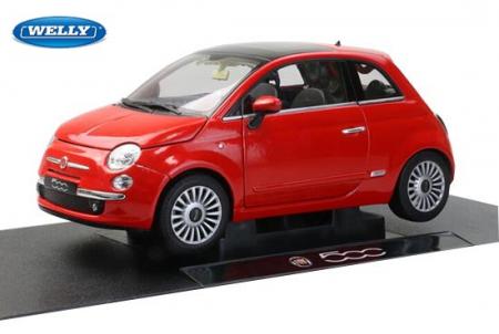 Macheta Fiat 500, scara 1:24 [0]