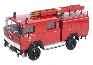 Macheta masina pompieri Magirus 100D 7FA LF8-TS, scara 1:430