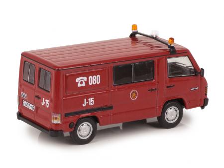 Macheta masina pompieri Mercedes Benz MB180, scara 1:43 [1]