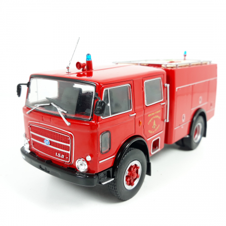 Macheta autospeciala pompieri OM Fiat 150, scara 1:43 [0]