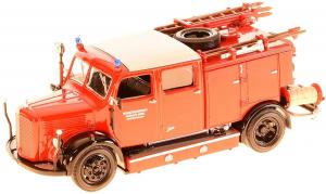 Macheta masina pompieri Mercedes TLF-15, scara 1:430