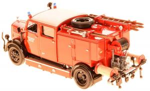 Macheta masina pompieri Mercedes TLF-15, scara 1:431