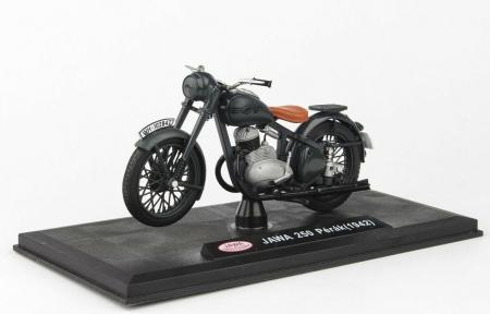Macheta motocicleta Jawa 250 Perak  Wermacht, scara 1:182
