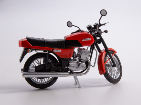 Macheta motocicleta cehoslovaca Java 350/638, scara 1:249