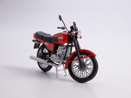Macheta motocicleta cehoslovaca Java 350/638, scara 1:247
